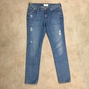 NWOT The Castings Slim Boyfriend Blue Jeans 27